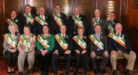 Labor leader John (Jack) Ahern was installed as Grand Marshal of the 253rd annual New York City St. Patrick's Day Parade